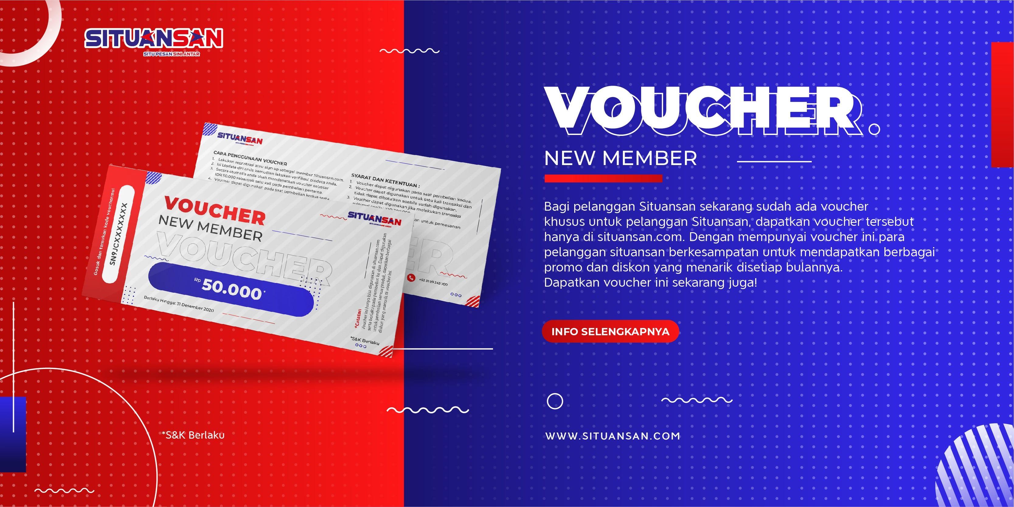 Voucher New Member