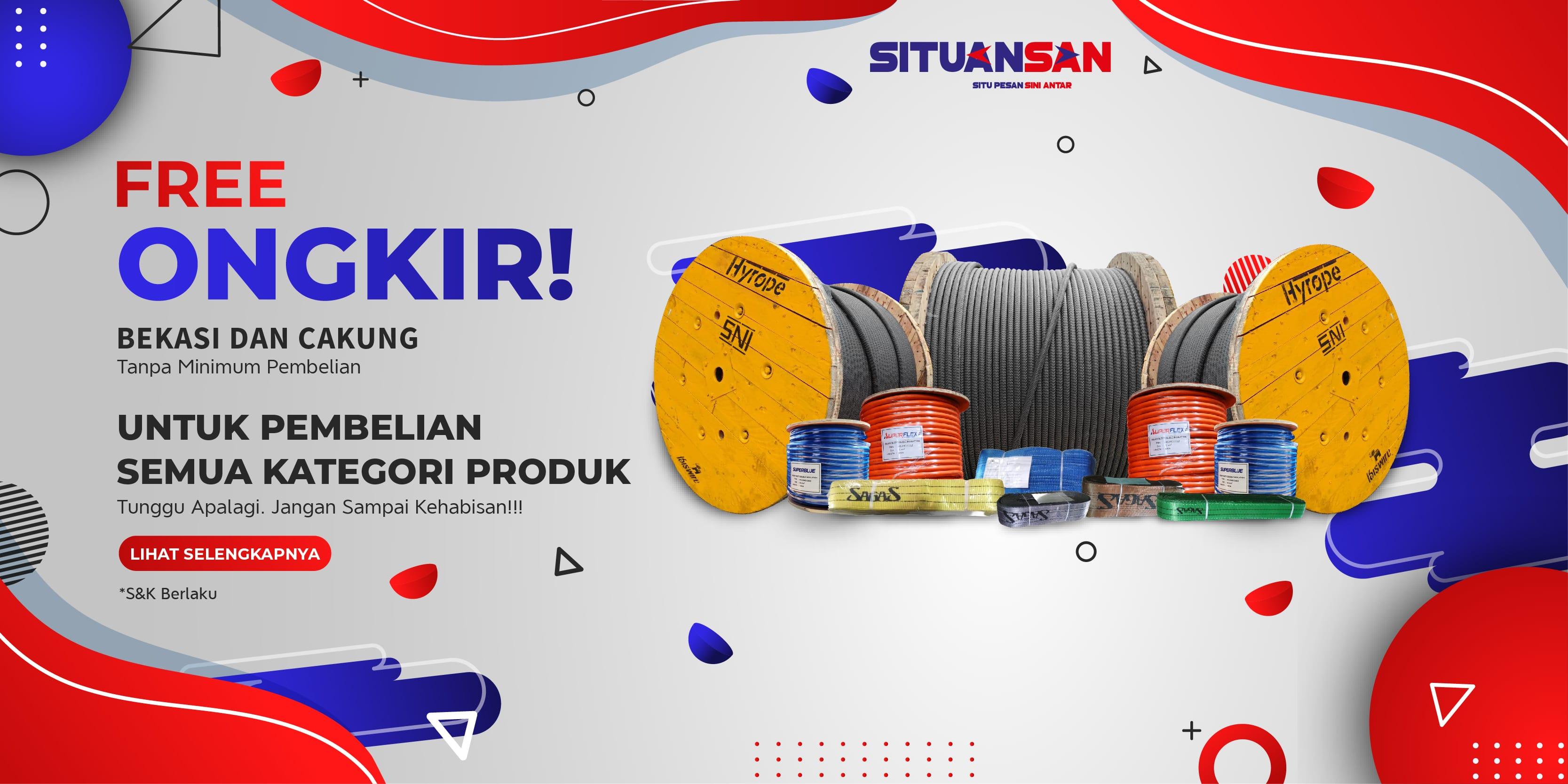 Promo Free Ongkir Bekasi & Cakung